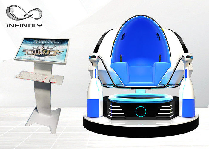 2 Player VR Cinema Simulator 9D Virtual Reality Egg With 12 Months Warranty